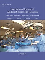 International Journal of Medical Science and Research
