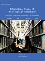 International Journal of Sociology and Humanities
