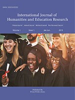 International Journal of Humanities and Education Research