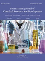 International Journal of Chemical Research and Development