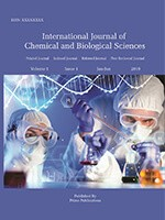 International Journal of Chemical and Biological Sciences
